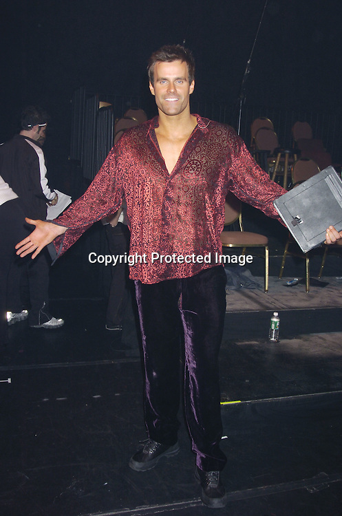 "Cameron Mathison ..at a performance of ""Pippin"" A Concert to Benefit The National Aids Fund and The Storm Theatre on November 29, 2004 at The Manhattan Center's Grand Ballroom...PHoto by Robin Platzer, Twin Images"