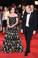 Duke and Duchess of Cambridge<br /> at the 2017 BAFTA Film Awards held at The Royal Albert Hall, London.<br /> <br /> <br /> ©Ash Knotek  D3225  12/02/2017