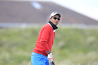 Kartik Sharma (IND) on the 5th tee during Round 1 of the The Amateur Championship 2019 at The Island Golf Club, Co. Dublin on Monday 17th June 2019.<br /> Picture:  Thos Caffrey / Golffile<br /> <br /> All photo usage must carry mandatory copyright credit (© Golffile | Thos Caffrey)