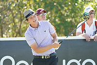 Tapio Pulkkanen (FIN) during Round 3 of the Portugal Masters, Dom Pedro Victoria Golf Course, Vilamoura, Vilamoura, Portugal. 26/10/2019<br /> Picture Andy Crook / Golffile.ie<br /> <br /> All photo usage must carry mandatory copyright credit (© Golffile   Andy Crook)