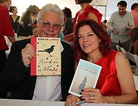 EAST HAMPTON, NY - August 10: Dan Rozzie and Roseanne Cash  at the East Hampton Library Authors night on August 10, 2019 in East Hampton, NY. <br /> CAP/MPI98<br /> ©MPI98/Capital Pictures