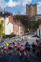 Picture by Alex Whitehead/SWpix.com - 30/04/2016 - Cycling - 2016 Asda Women's Tour de Yorkshire: Otley to Doncaster - Yorkshire, England - Conisbrough Castle.