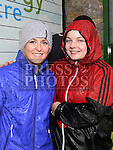 Laura Fitzgerald and Anna Callaghan who took part in the Duleek & District 5K run. Photo:Colin Bell/pressphotos.ie