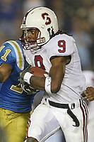 1 October 2006: Richard Sherman during Stanford's 31-0 loss to UCLA at the Rose Bowl in Pasadena, CA.