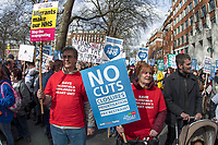 Defend The NHS Demo 4th March 2017 London