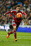 Real Sociedad´s Ruben Pardo during La Liga match between Real Madrid and Real Sociedad at Santiago Bernabeu stadium in Madrid, Spain. December 30, 2015. (ALTERPHOTOS/Victor Blanco)