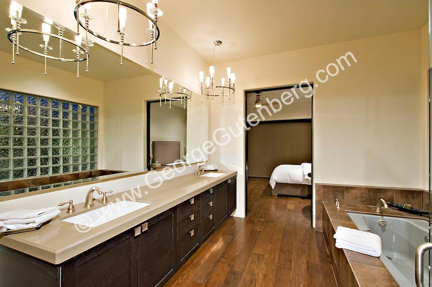 Stock photo of residential master bathroom Stock photo of master ...