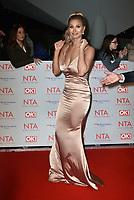 Ferne McCann<br /> Arrivals at the National Television Awards 2018 at The O2 Arena on January 23, 2018 in London, England. <br /> CAP/Phil Loftus<br /> &copy;Phil Loftus/Capital Pictures