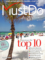 MustDo travel guide for Fort Myers, Captiva and Sanibel Islands, Florida, USA. Cover and editorial photos by Debi Pittman Wilkey
