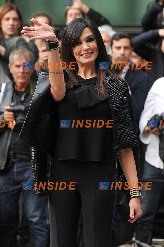Milano 30/04/2015 - Inaugurazione Armani Silos - Giorgio Armani 40th Anniversary Silos Opening / foto Andrea Ninni/Image/Insidefoto <br /> nella foto: Maria Grazia Cucinotta