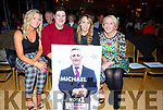 Attending the John Mitchels Lip Sync in the Ballygarry House Hotel on Sunday night.<br />  L to r: Catriona Ryall, Graham Sheehy, Tara Walsh and Margaret McCarthy.