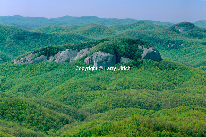 Looking Glass Rock in Pisgah National Forest<br />
