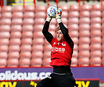 Simon Moore of Sheffield Utd during the Championship match at Bramall Lane Stadium, Sheffield. Picture date 16th September 2017. Picture credit should read: Simon Bellis/Sportimage