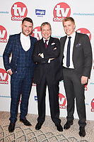 Danny Miller, John Middleton &amp; Ryan Hawley at the TV Choice Awards 2017 at The Dorchester Hotel, London, UK. <br /> 04 September  2017<br /> Picture: Steve Vas/Featureflash/SilverHub 0208 004 5359 sales@silverhubmedia.com