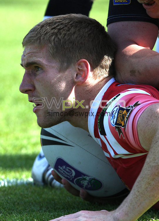 PICTURE BY DANIEL HARRISON/SWPIX.COM...Rugby League - Challenge Cup - Bradford Bulls v Wigan Warriors - Odsal, Bradford, England - 22/05/11...Wigan Warriors Sam Tomkins.