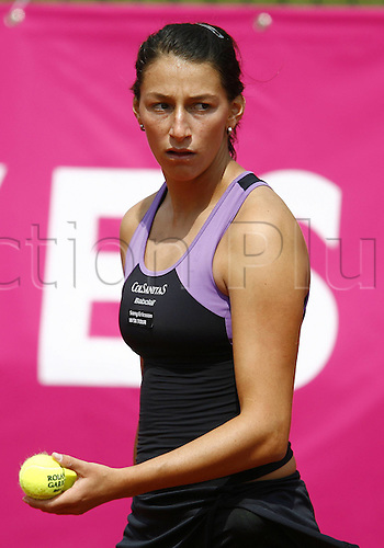 16 05 2010  Mariana Duque Marino Col during the qualifications at the Strasbourg Womens Tennis Tour (WTA).