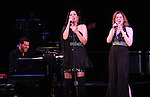 Linda Eder ('Jekyll & Hyde' Reunion) and Christiane Noll with Billy Jay Stein (at Piano) performing their show 'A New Life' at The Town Hall on October 13, 2012 in New York City.