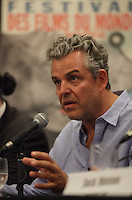 August 25 2012 - Montreal (Qc) CANADA -  News Conference for TWO JACKS with Danny Huston, actor  (L), his son Jack Huston, actor and Julia Verdin, producer.<br />  IN PHOTO : Danny Huston.<br /> <br /> TWO JACKS is in the Official Competien of Montreal World Film Festival that run til September 3, 2012.<br /> <br /> Danny Huston is the son of filmmaker John Huston