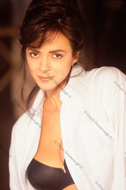 Publicity Photo of Model and Actress Roberta Vasquez taken in 1995 by Chuck Goodenough in Los Angeles.