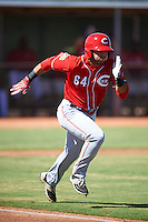 Cincinnati Reds Mauro Conde (64) during an Instructional League game against the Chicago White Sox on October 11, 2016 at the Cincinnati Reds Player Development Complex in Goodyear, Arizona.  (Mike Janes/Four Seam Images)