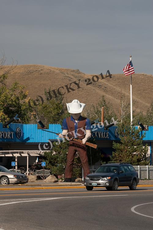"""Little Cowboy Bar"" on West River Street"