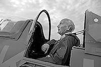 Rolf Kolling flew with 332 squadron druing the war, and flew Spitfire during D-day.  Norwegian Spitfire Foundation invited Norwegian WWII  Spitfire veterans to fly in Spitfire, at the historical airfield Kjeller in Norway.