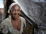 Sofayi Nyayhango lives in a tent in Karonga, a town in northern Malawi where the ACT Alliance has worked with local residents to recover from a 2009 earthquake. The woman will soon be moving into a rebuilt house.