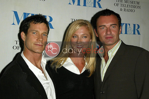 Dylan Walsh with Joely Richardson and Julian McMahon<br />
