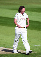 PICTURE BY VAUGHN RIDLEY/SWPIX.COM - Cricket - County Championship Div 2 - Yorkshire v Kent, Day 1 - Headingley, Leeds, England - 05/04/12 - Yorkshire's Ryan Sidebottom.