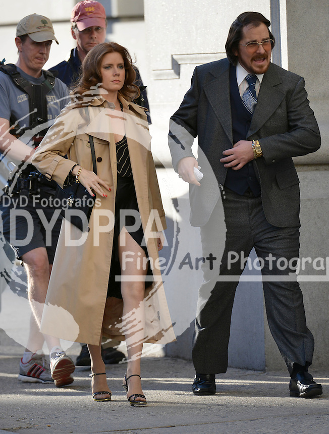 NEW YORK 051713<br /> ************WORLDWIDE RIGHTS **********<br /> PICTURES BY: EAGLEPRESS<br /> PLEASE CREDIT ALL USES<br /> ----------------------------------<br /> AMY ADAMS FILMING; AMERICAN HUSTLE IN NEW YORK<br /> ----------------------------------<br /> CONTACT: <br /> +1 917 7100494<br /> photos@eaglepress.us