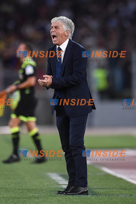 Gian Piero Gasperini coach of Atalanta<br /> Roma 25-9-2019 Stadio Olimpico <br /> Football Serie A 2019/2020 <br /> AS Roma - Atalanta Bergamasca Calcio <br /> Foto Antonietta Baldassarre / Insidefoto