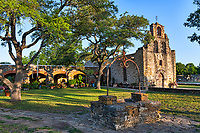 Mission Espada- Mission Espada is one of the spanish mission which are part of the San Antonio National Historical park. Included this well on the beautiful ground with these lovely trees of the mission landscape.