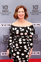 """Los Angeles CA Apr 11: Dana Delany, arrive to 2019 TCM Classic Film Festival Opening Night Gala And 30th Anniversary Screening Of """"When Harry Met Sally"""", TCL Chinese Theatre, Los Angeles, USA on April 11, 2019 <br /> CAP/MPI/FS<br /> ©FS/MPI/Capital Pictures"""