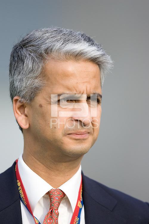 US Soccer Federation President, Sunil Gulati..