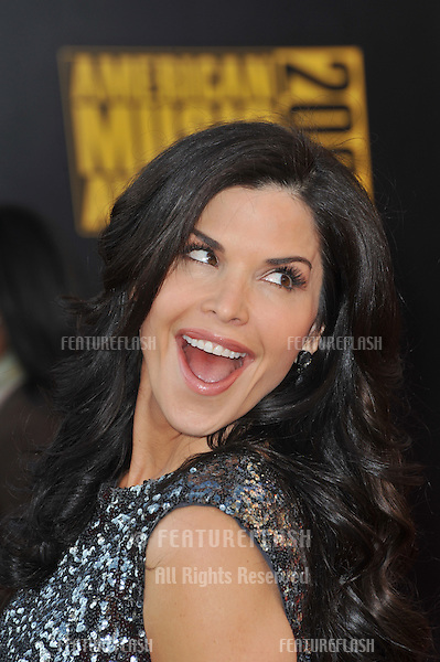 Lauren Sanchez at the 2009 American Music Awards at the Nokia Theatre L.A. Live..November 22, 2009  Los Angeles, CA.Picture: Paul Smith / Featureflash