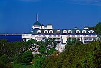 THE GRAND HOTEL ON MACKINAC ISLAND, MICHIGAN.