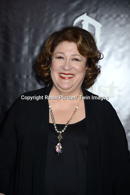 "Margo Martindale attends the New York Premiere of ""August: Osage County"" on December 12, 2013 at the Ziegfeld Theatre in New York City."