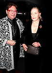 "Jean-Claude Baker & Lauren Bacall.attending ""First Readings: A Benefit for Studio Dante"".with a Tribute to the Legendary Lauren Bacall at the Rubin Museum of Art in New York City..March 31, 2008."