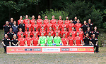 06.07.2019, Stadion an der Wuhlheide, Berlin, GER, 2.FBL, 1.FC UNION BERLIN , Mannschaftsfoto, Portraits, <br /> DFL  regulations prohibit any use of photographs as image sequences and/or quasi-video<br /> im Bild <br /> hvl.: Christopher Busse (Reha), Keven Schlotterbeck (1.FC Union Berlin #31), Marvin Friedrich (1.FC Union Berlin #5), Lars Dietz (1.FC Union Berlin #4), Florian Huebner (1.FC Union Berlin #19), Neven Subotic (1.FC Union Berlin #63), Sebastian Polter (1.FC Union Berlin #9), Sebastian Andersson (1.FC Union Berlin #10), Christopher Trimmel (1.FC Union Berlin #28), Frank Platzen (Physio)<br /> 2.Rvovl.: Cheftrainer (Head Coach) Urs Fischer(1.FC Union Berlin), Oliver Ruhren (Geschaeftsfuehrer) (1.FC Union Berlin), Nicolai Rapp (1.FC Union Berlin #18), Ken Reichel (1.FC Union Berlin #14), Marcus Ingvartsen (1.FC Union Berlin #57), Grischa Proemel (1.FC Union Berlin #21), Marius Buelter (1.FC Union Berlin #64), Robert Andrich (1.FC Union Berlin #30), Christian Gentner (1.FC Union Berlin #62), Lennard Maloney (1.FC Union Berlin #33), Torwarttrainer Michael Gspurning (1.FC Union Berlin), Martin Krueger (Athletik),<br /> 3.Rvl.: Co-Trainer Sebastian Boenig (1.FC Union Berlin) , Co-Trainer Markus Hoffmann (1.FC Union Berlin)Cihan Kahraman (1.FC Union Berlin #36), Anthony Ujah (1.FC Union Berlin #13), Sheraldo Becker (1.FC Union Berlin #27), Julius Kade (1.FC Union Berlin #26), Julian Ryerson (1.FC Union Berlin #6), Felix Kroos (1.FC Union Berlin #23), Michael Parensen (1.FC Union Berlin #29), Christopher Lenz (1.FC Union Berlin #25), Florian Flecker (1.FC Union Berlin #17), Adrian Wittmann(Video), Maximilian Perschk (Physio),<br /> Vodvl.: Sven Weinel (Manns-Betr.), Susi Kopplin (Manns-Leiterin), Maurice Arcones (1.FC Union Berlin #40), Laurenz Dehl (1.FC Union Berlin #16), Joshua Mees (1.FC Union Berlin #8), Jakob Busk (1.FC Union Berlin #12), Rafael Gikiewicz (1.FC Union Berlin #1), Moritz Nicolas (1.FC Union Berlin #35), Manuel Schmiedebach (1.FC Union Berlin #24), Akaki Gogia (1.FC Union Ber