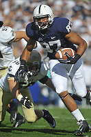 15 September 2012:  Penn State TE Kyle Carter (87).<br /> The Penn State Nittany Lions defeated the Navy Midshipmen 34-7 at Beaver Stadium in State College, PA.