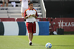 09 December 2007: USC head coach Ali Khosroshahin. The University of Southern California Trojans defeated the Florida State University Seminoles 2-0 at the Aggie Soccer Stadium in College Station, Texas in the NCAA Division I Womens College Cup championship game.