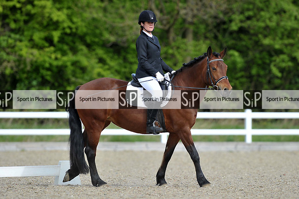 Class 2. Intro C. Unaffiliated dressage. Brook Farm Training Centre. Essex. 15/04/2017. MANDATORY Credit Garry Bowden/Sportinpictures - NO UNAUTHORISED USE - 07837 394578