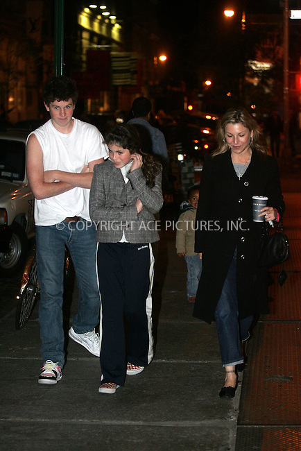 Actress Tatum O'Neal was spotted shopping in Soho with her children Sean and Emily McEnroe. O'Neal's ex-husband Tennis player John McEnroe won custody of the children following a prolonged custody battle. October 23 2004 Please byline: BRIAN FLANNERY/ACEPIXS.com..*PAY-PER-USE*....IMPORTANT: Please note that our old trade name New York Photo Press has changed to ACE Pictures. New York Photo Press and ACE Pictures are both owned by All Celebrity Entertainment, Inc.......All Celebrity Entertainment, Inc..Contact: Alecsey Boldeskul, (646) 267 6913..Philip vaughan, (646) 769 0430..e-mail: info@acepixs.com..Philip.Vaughan@acepixs.com