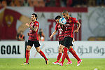 Guangzhou Forward Alan Douglas De Carvalho (R) celebrating his score during the AFC Champions League 2017 Quarter-Finals match between Guangzhou Evergrande (CHN) vs Shanghai SIPG (CHN) at the Tianhe Stadium on 12 September 2017 in Guangzhou, China. Photo by Marcio Rodrigo Machado / Power Sport Images