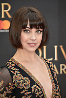 Leanne Cope<br /> The Olivier Awards 2018 , arrivals at The Royal Albert Hall, London, UK -on April 08, 2018.<br /> CAP/PL<br /> &copy;Phil Loftus/Capital Pictures