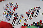 Cross Country Ski World Cup 2018 FIS in Dobbiaco, Toblach, on December 17, 2017; Men 15 km Pursuit Classic;