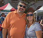 Kevin and Angela Comphel during the Italian Festival in downtown Reno on Saturday, Oct. 7, 2017.