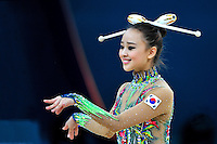 August 29, 2013 - Kiev, Ukraine - SON YEON-JAE of South Korea performs at 2013 World Championships.
