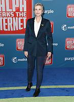 05 November 2018 - Hollywood, California - Jane Lynch. Disney's &quot;Ralph Breaks the Internet&quot; Los Angeles Premiere held at El Capitan Theater. <br /> CAP/ADM/BT<br /> &copy;BT/ADM/Capital Pictures