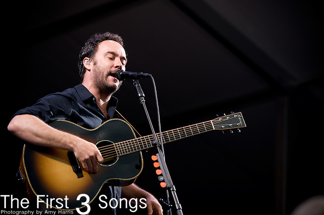 Dave Matthews performs during the New Orleans Jazz & Heritage Festival in New Orleans, LA.